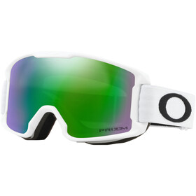 Oakley Line Miner Gafas de Nieve Niños, matte white/w prizm snow jade iridium